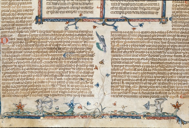 Centaurs from BL Royal 10 E IV, f. 173v
