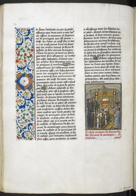 Chapel Ardente from BL Royal 14 E IV, f. 217v