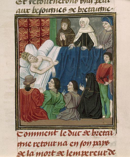 Charles IV from BL Royal 18 E I, f. 91v