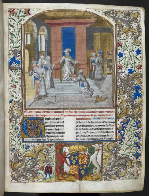 Charles the Bold from BL Royal 15 D IV, f. 11