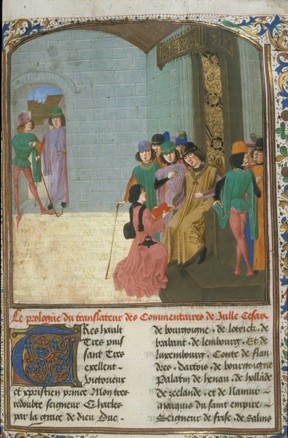 Charles the Bold from BL Royal 16 G VIII, f. 14