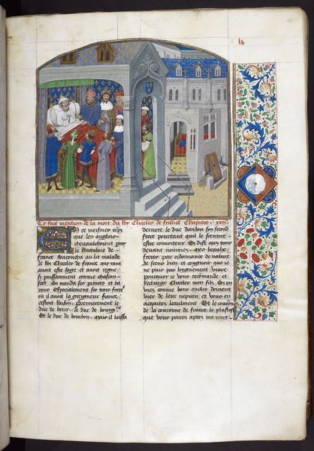 Charles V from BL Royal 14 E IV, f. 64