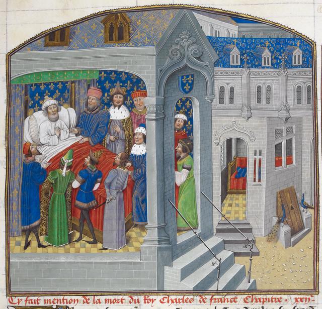 Charles V from BL Royal 14 E IV, f. 64
