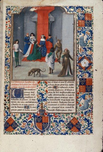 Charles V from BL Royal 14 E VI, f. 10