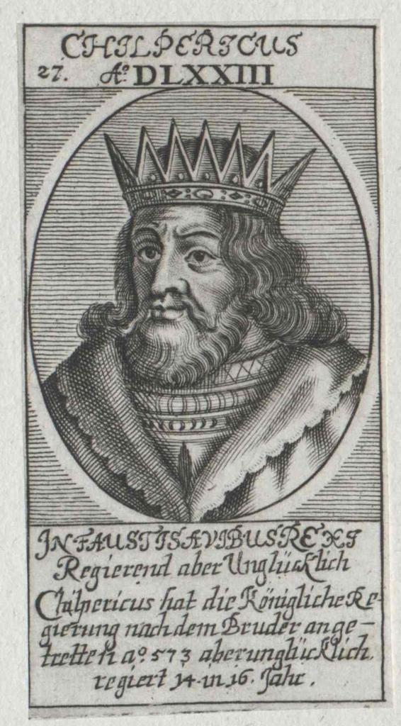 Chilperich I., König der Franken