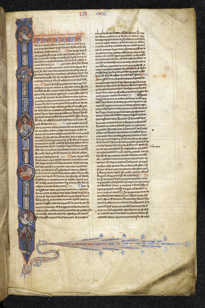 Christ And Symbols Of The Evangelists From Bl Royal 1 E I F 5 Picryl