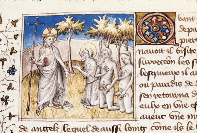 Christ from BL Royal 20 B IV, f. 146v
