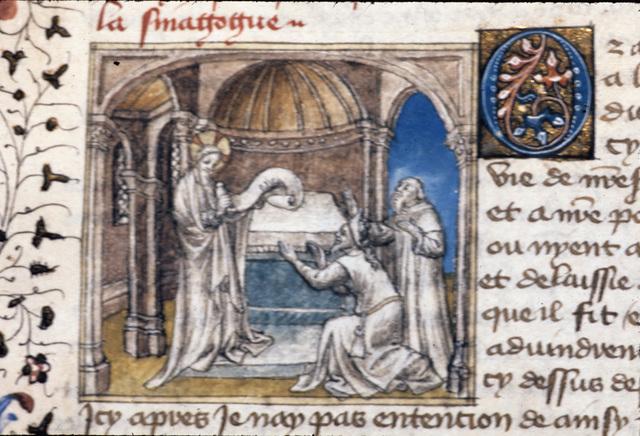 Christ from BL Royal 20 B IV, f. 52v
