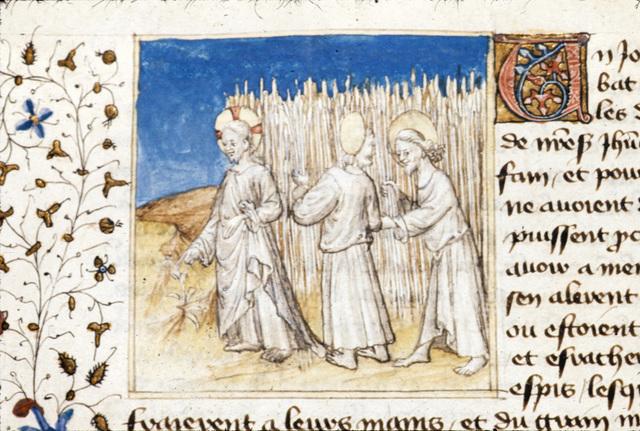 Christ from BL Royal 20 B IV, f. 84v