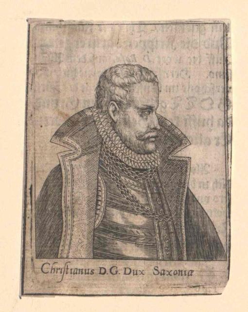 Christian I., Kurfürst von Sachsen