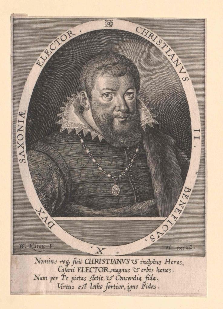 Christian II., Kurfürst von Sachsen