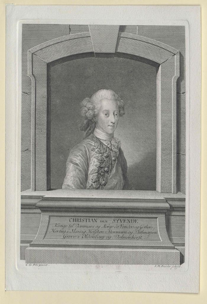 Christian VII., König von Dänemark