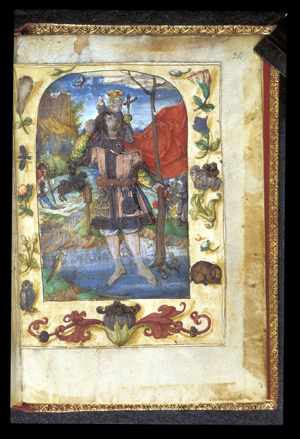 Christopher from BL Harley 2953, f. 211