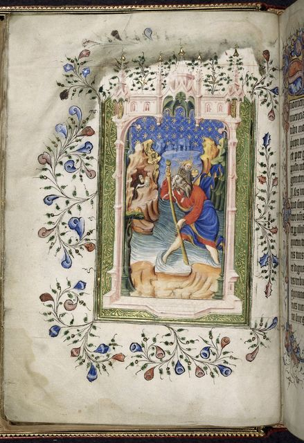 Christopher from BL Royal 2 A XVIII, f. 11v