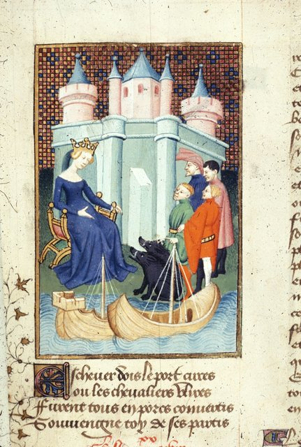 Circe from BL Harley 4431, f. 140