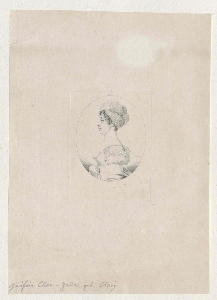 Clary und Aldringen, Josephine Gräfin von