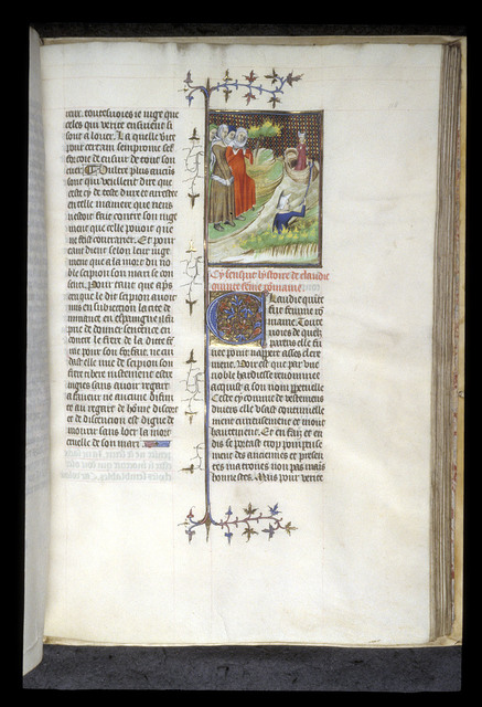 Claudia Quinta from BL Royal 20 C V, f. 118