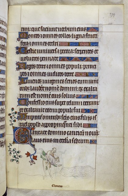 Clement from BL Royal 2 B VII, f. 279