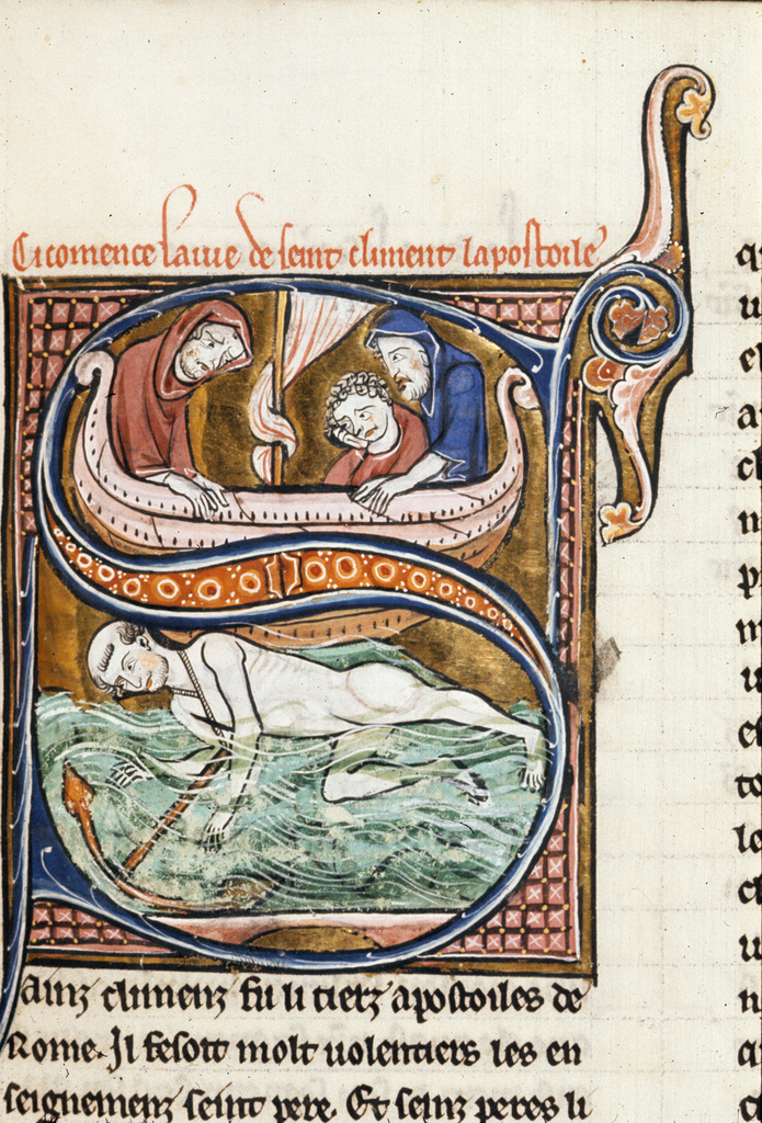 Clement from BL Royal 20 D VI, f. 97