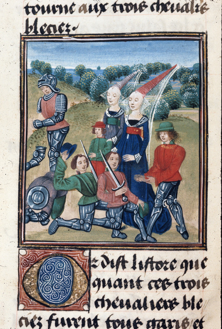 Cleriadus from BL Royal 20 C II, f. 26v