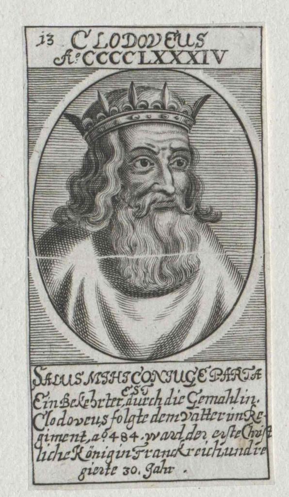 Clodwig I., König der Franken