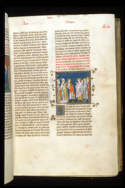 Clothaire from BL Royal 16 G VI, f. 90
