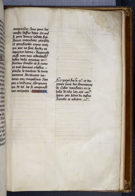 Colophon from BL Royal 16 G VIII, f. 338