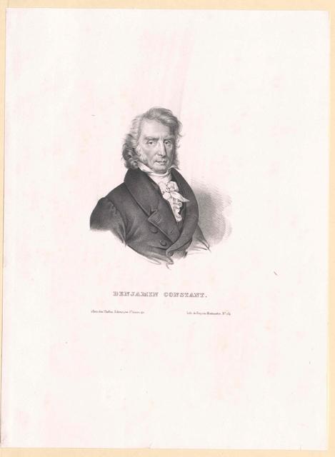 Constant de Rebecque, Benjamin