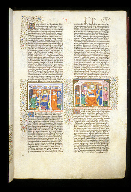 Correspondence of Alexander and Darius from BL Royal 15 E VI, f. 10
