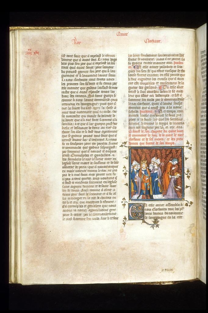 Council of Clichy from BL Royal 16 G VI, f. 98v