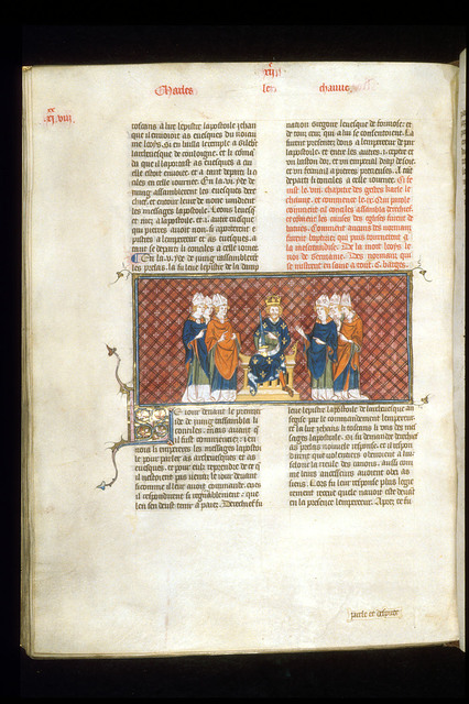 Council of Metz from BL Royal 16 G VI, f. 230v