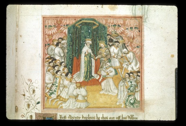 Court from BL Harley 2278, f. 25