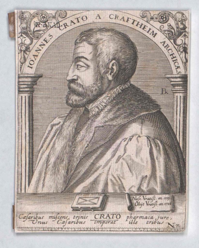 Crato von Krafftheim, Johannes