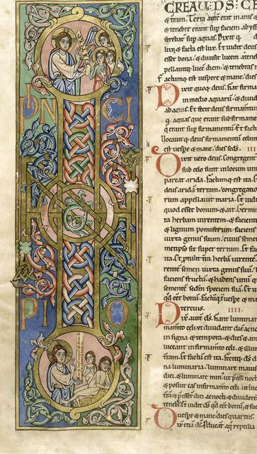 Creation from BL Harley 2803, f. 6v