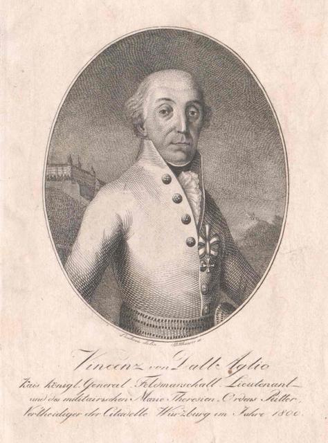 Dall'Aglio von Frankenfels, Vincenz Freiherr