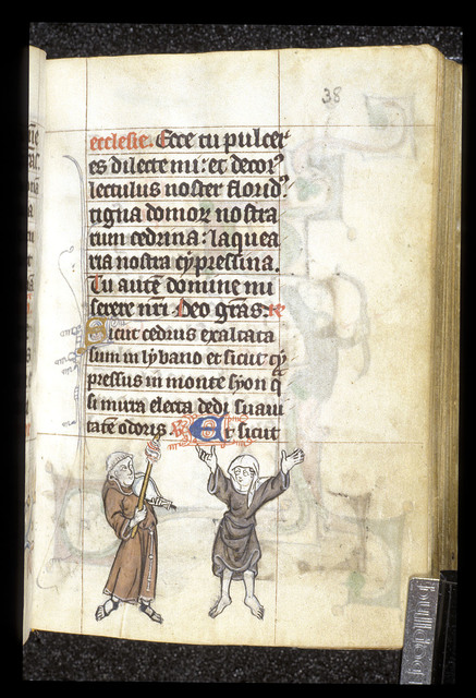 Dancing from BL Stowe 17, f. 38