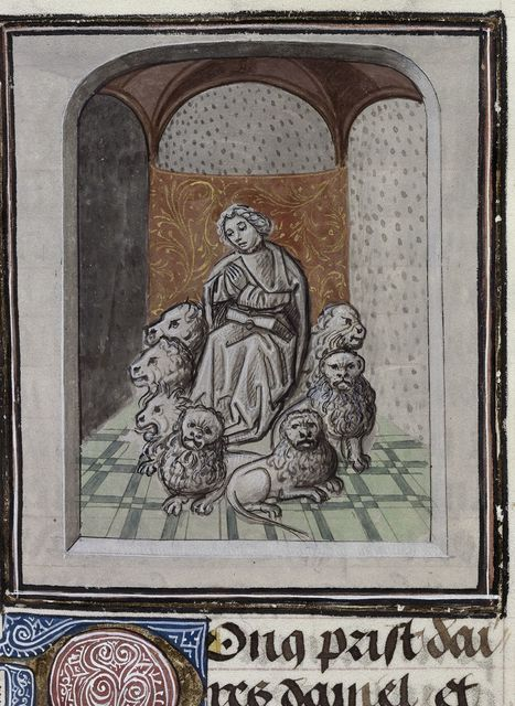 Daniel from BL Royal 15 D I, f. 47