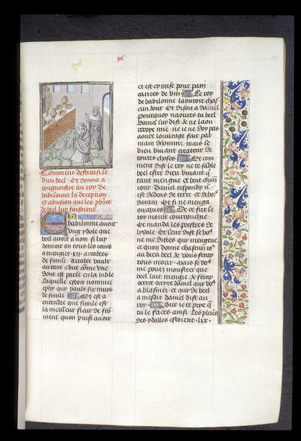 Daniel from BL Royal 15 D I, f. 57