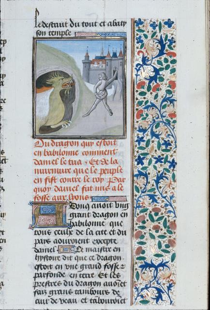 Daniel from BL Royal 15 D I, f. 58