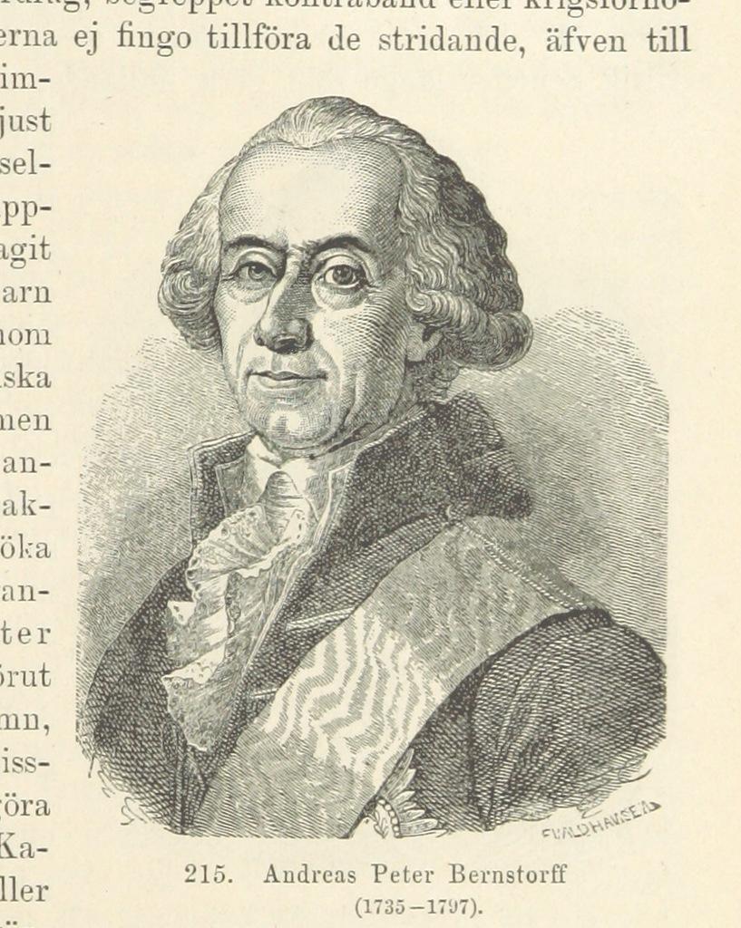 """Danish statesman and politician from """"Sveriges Historia från äldsta tid till våra dagar, etc"""""""