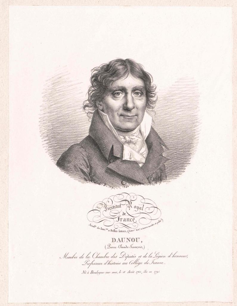Daudou, Pierre Claude Francois