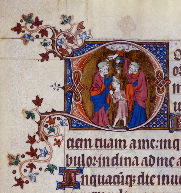 David and Samuel from BL Royal 2 B VII, f. 214v