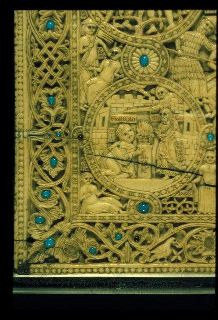 David from BL Eg 1139, Upper cover