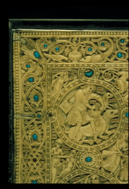 David from BL Eg 1139, Upper cover