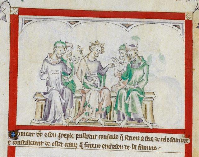David from BL Royal 2 B VII, f. 61v