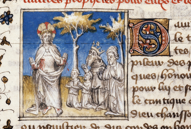 David from BL Royal 20 B IV, f. 152v
