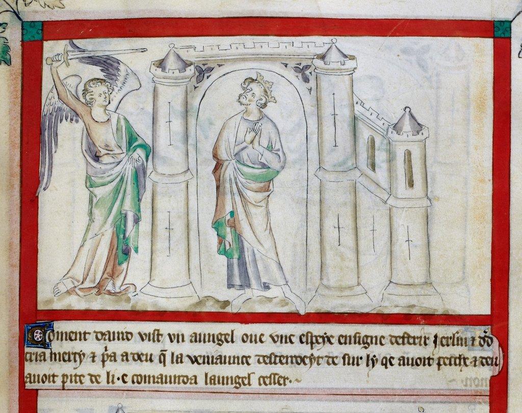 David seeking mercy from BL Royal 2 B VII, f. 63