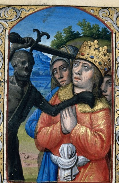 Death from BL Harley 2936, f. 84