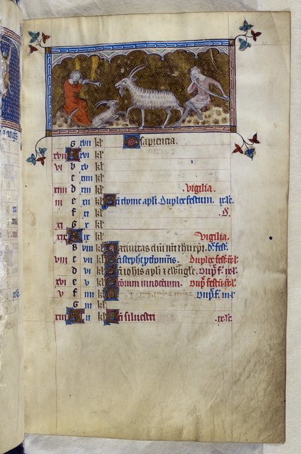 December from BL Royal 2 B VII, f. 83