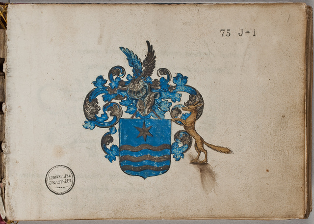 Dedicatie van zijn album amicorum / Adrianus Hofferus (1589-1644), dichter, stedelijk magistraat te Zierikzee